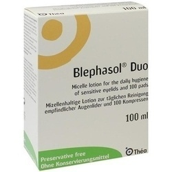 BLEPHASOL DUO 100ML+100PAD